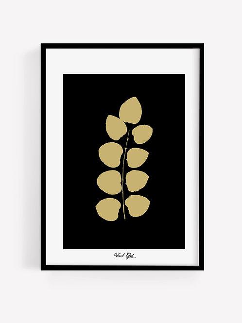Gold Leaves B