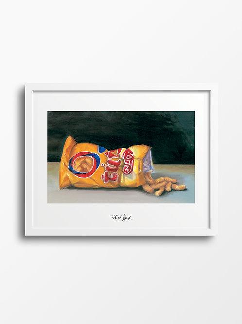 Bamba - oil painting