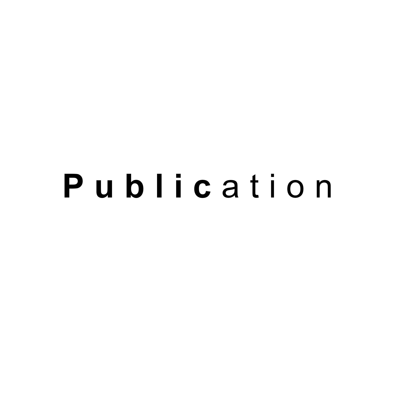 Publication front cover