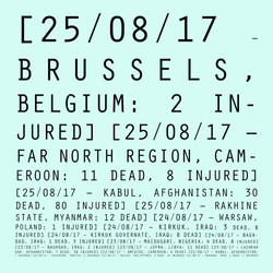 25/08/017 - 21/08/17: Brussels