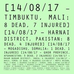 14/08/17 - 13/08/17: Mali