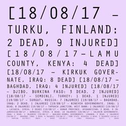 18/08/17 - 20/08/17: Finland