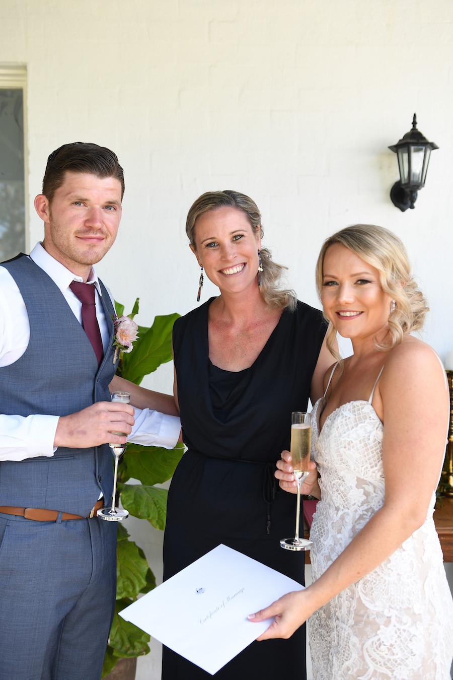 Marry Me Kristy wedding celebrant