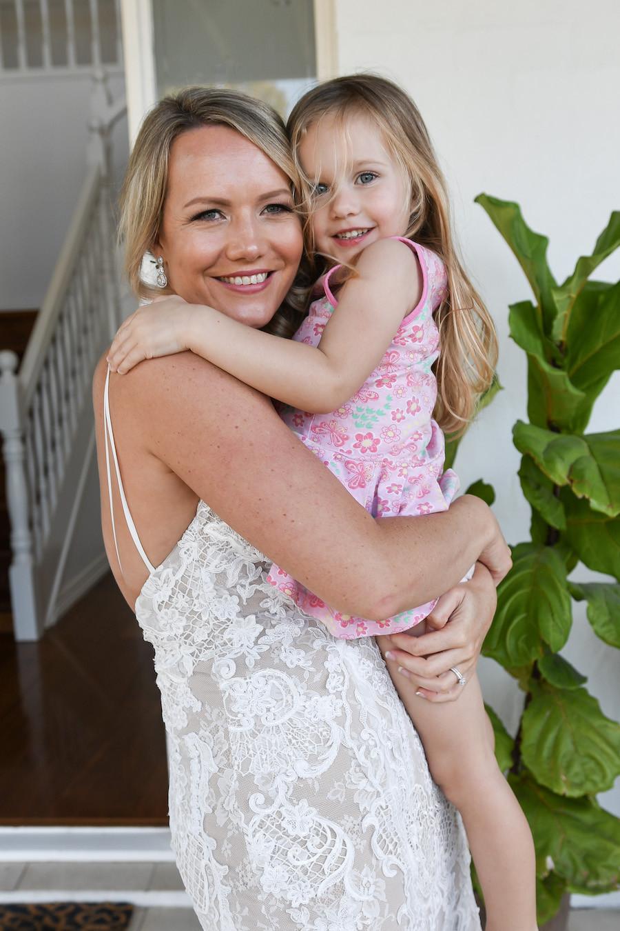Bride's niece