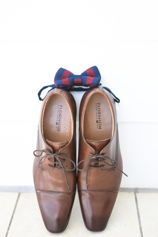 Groom's Shoes + Tie