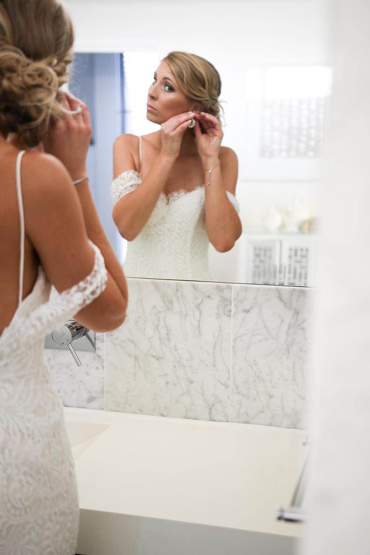 Bride's final details
