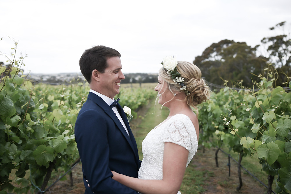 Playful exchange in the vines