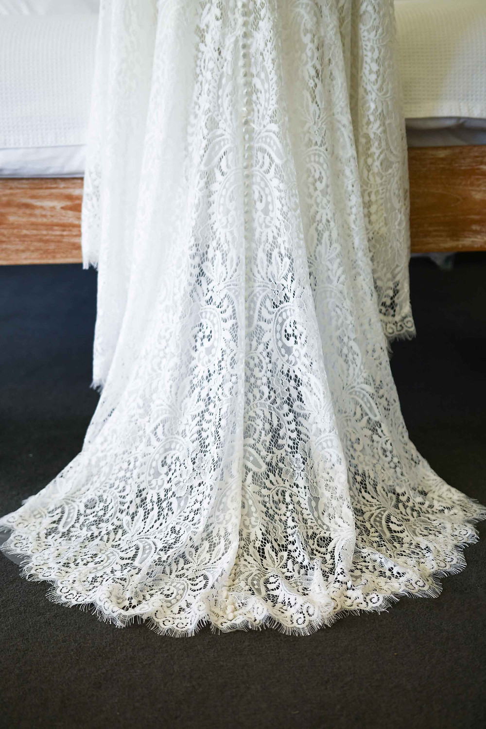 Bohemian Brides wedding dress