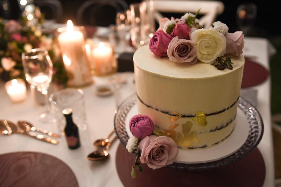 Confetti Cake Co Naked Cake