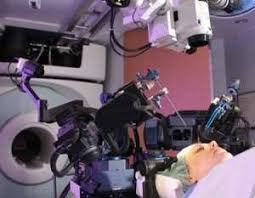 Canadian-made robot helps remove brain tumour