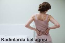 Kadınlarda bel ağrılarına dikkat