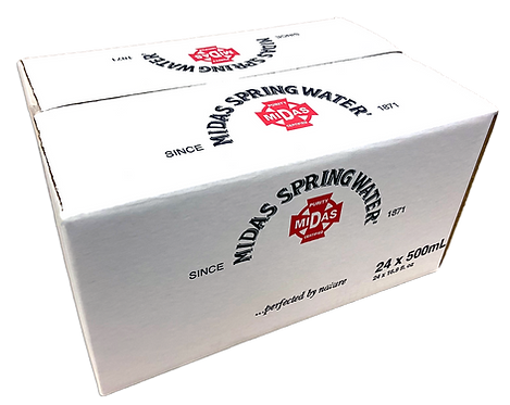 Midas Spring Water 24 - 16.9 fl oz