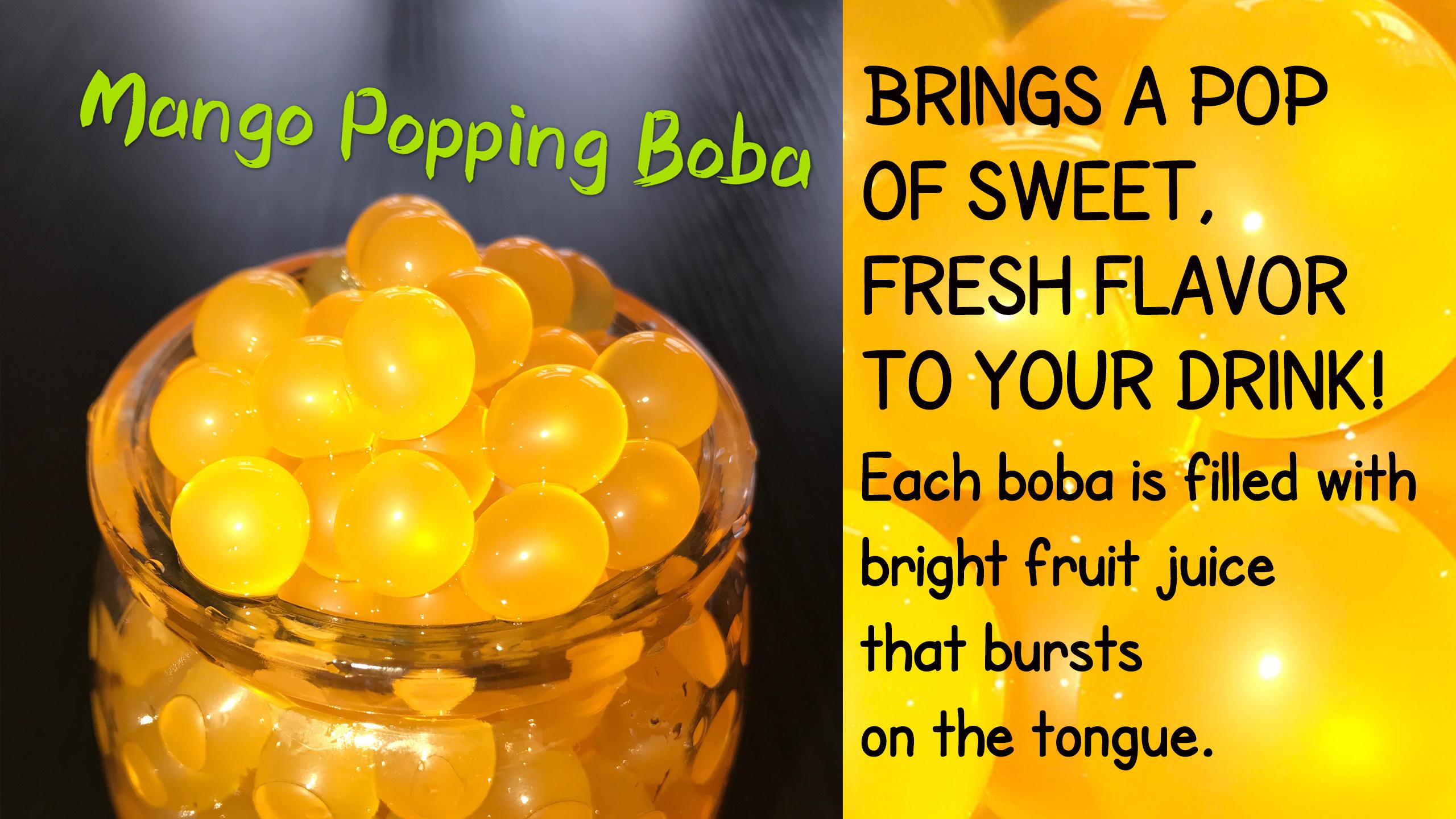 mango popping