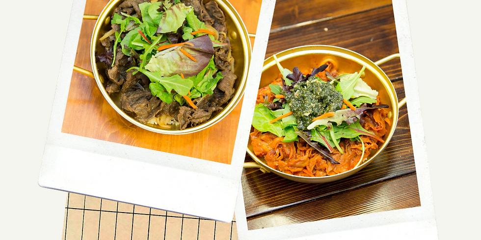 Korean BBQ Rice Bowl Tasting Event! 5-7pm