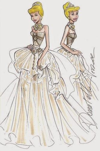 Figurino di Donatella Versace per Harrods Campagna pubblicitaria Natale 2012