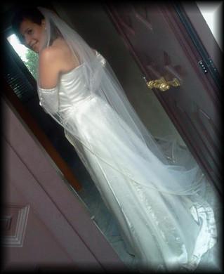 Il fascino di un abito da sposa