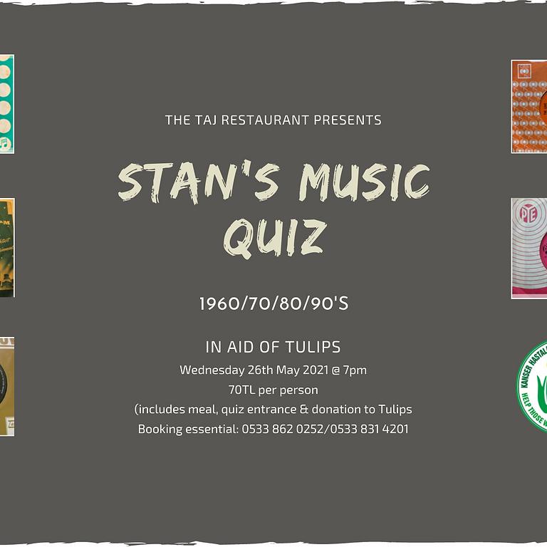 Stan's Music Quiz
