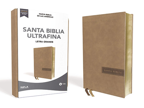 Biblia NBLA Ultrafina Letra Grande