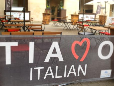Al Fresco dining at Tiamo Italian has arrived!