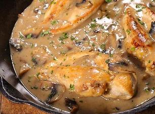 Pollo con Funghi Tiamo Italian