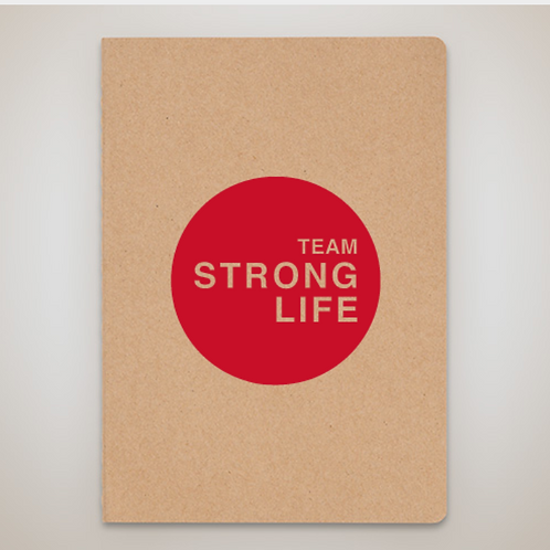Team Strong Life Notebook