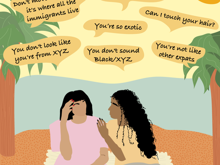 """""""You're not like other expats"""" 