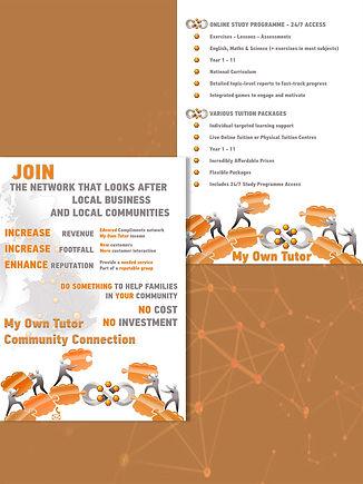 Community Connection column leaflet bckg