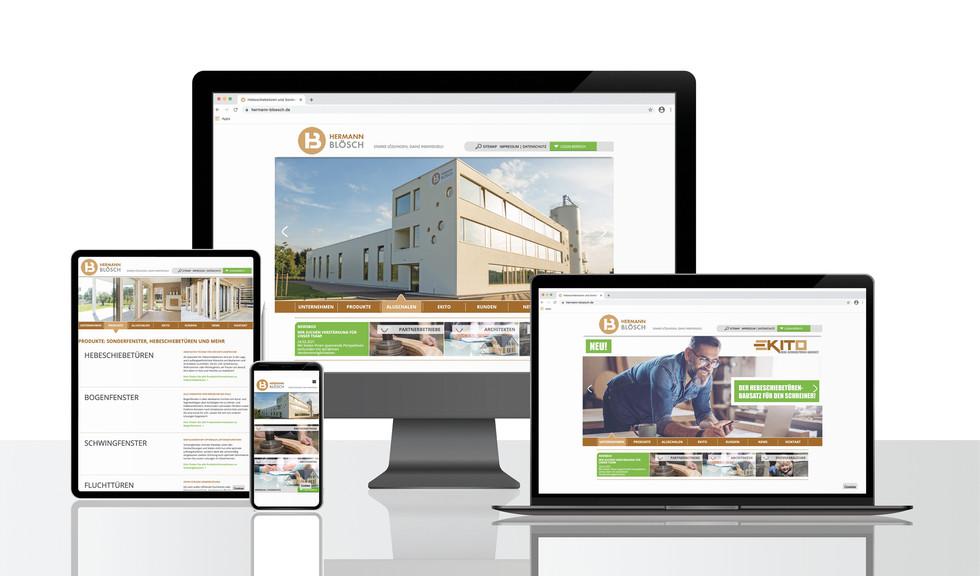 Website und Webshop