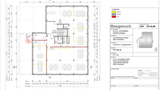2. Obergeschoss (Variante 3) mit 3 Büros