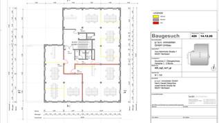 2. Obergeschoss (Variante 1) mit 3 Büros