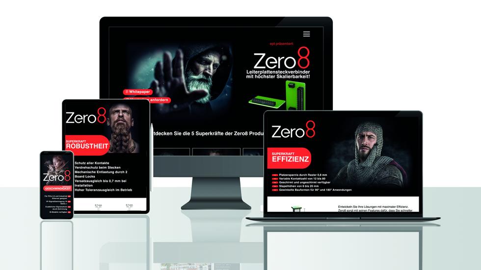 Zero8 Website-Integration