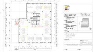 2. Obergeschoss (Variante 2) mit 2 Büros