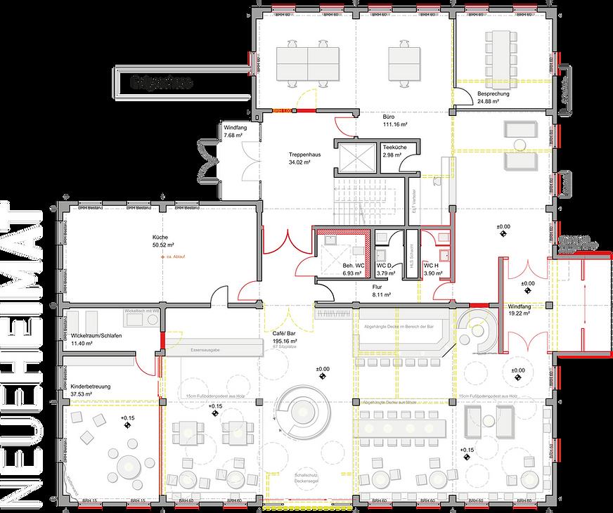 Erdgeschoss - Neue Heimat Illertissen