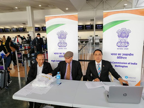 Taking care of our Indian whanau - Vande Bharat Mission
