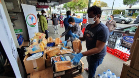 Consulate distributes food boxes to Indian Nationals
