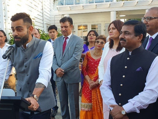 Indian High Commission host a grand reception for the Indian cricket team