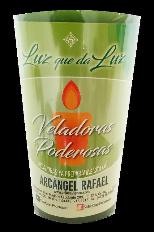 Veladora Al Arcángel Rafael