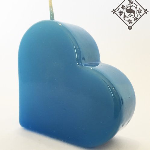 Corazón Barnizado Color