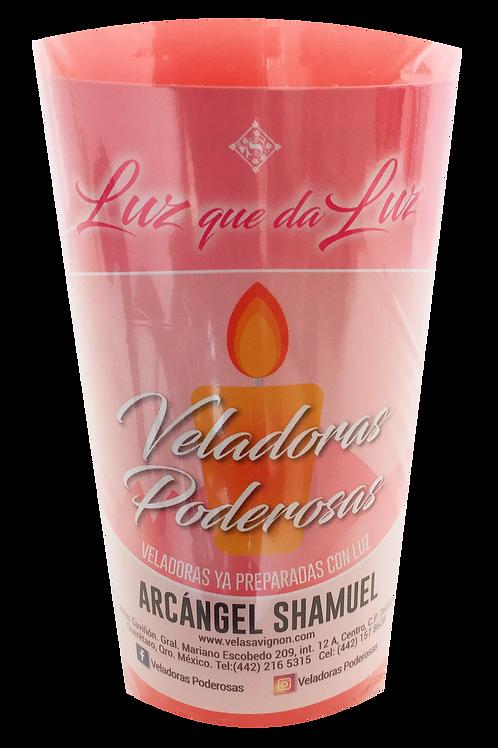 Veladora Al Arcángel Chamuel