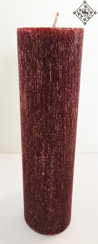 Vela Roja Cepillada 5x20cm.png