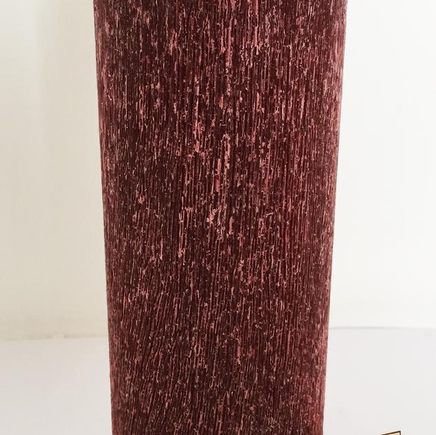 243 Vela Roja Cepillada 5x15cm Felices F