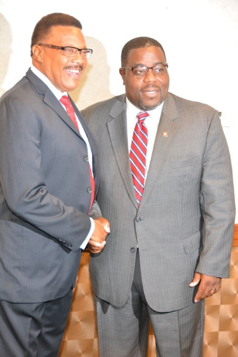 Judge Mathis w/ Rep. Murdock