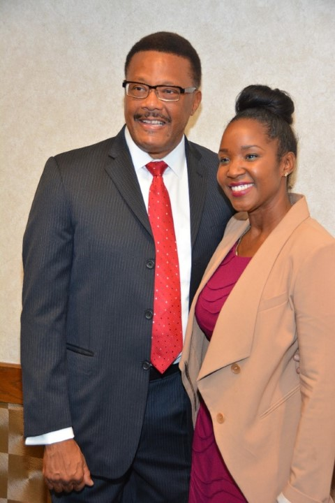 Judge Mathis & Teresa Timmons