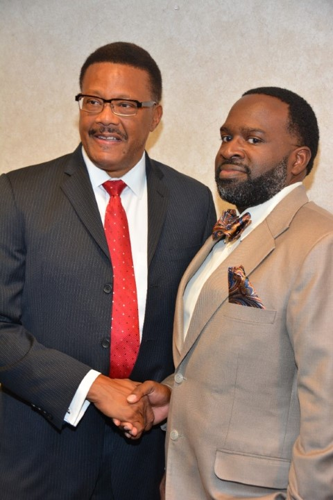 Judge Mathis w/ Leonard Smith