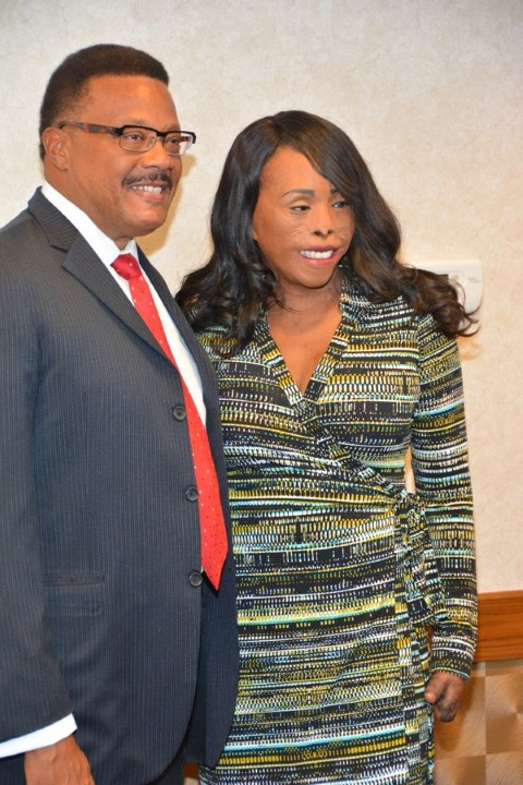 Judge Mathis & Linda Rowe-Thomas