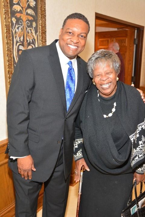 Senator Steele & Annie Abrams