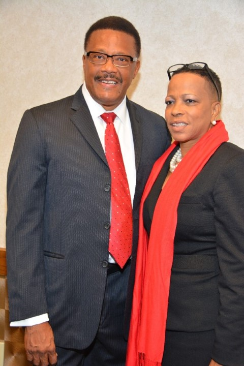 Judge Mathis & Tangie Sims