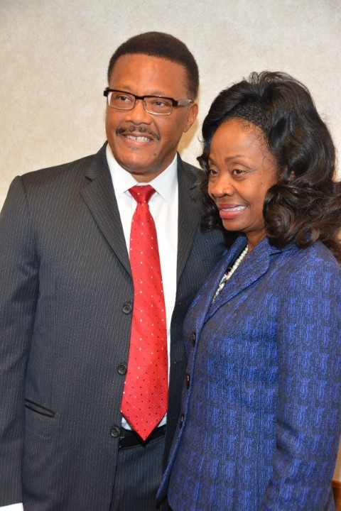 Judge Mathis & Dr. Charity Smith