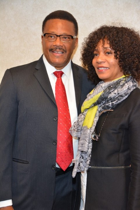 Judge Mathis & Alicia Smith