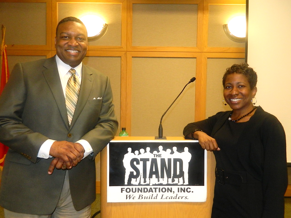 The STAND Foundation, Inc. Founder, Senator Tracy Steele and Program Administrat